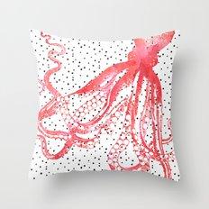 Doctopus Throw Pillow