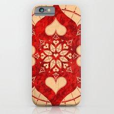 lianai hearts redstone mandala Slim Case iPhone 6s