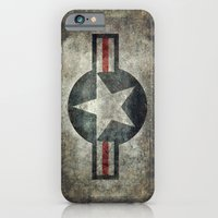Stylized Tribute of the US Air force Roundel insignia #1 iPhone 6 Slim Case