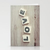 Letter Love Stationery Cards
