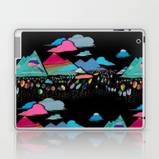 candy mountains over lollipop trees Laptop & iPad Skin