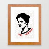 Irene Adler Framed Art Print