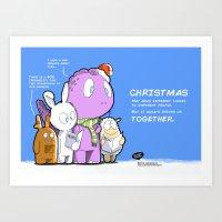 Christmas 2014 Art Print