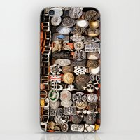 Italian leather belts, Florence market iPhone & iPod Skin