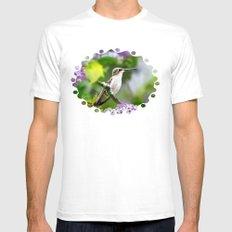 Hummingbird XVIII Mens Fitted Tee White SMALL