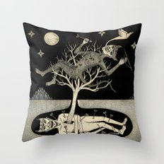 No Bad Deed Goes Unpunished Throw Pillow