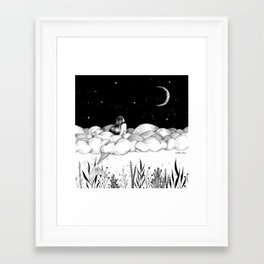 Framed Art Print - Moon River - Henn Kim
