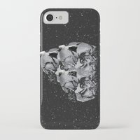 skulls iPhone & iPod Cases featuring Skulls by Mrs Araneae