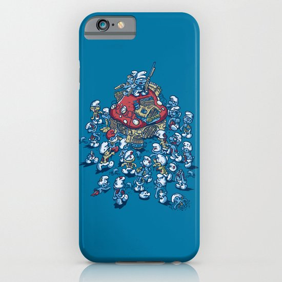 Blue Horde iPhone & iPod Case