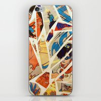 Superwoman iPhone & iPod Skin
