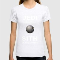 Wars Womens Fitted Tee Ash Grey SMALL