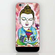 Buddha's Delight iPhone & iPod Skin