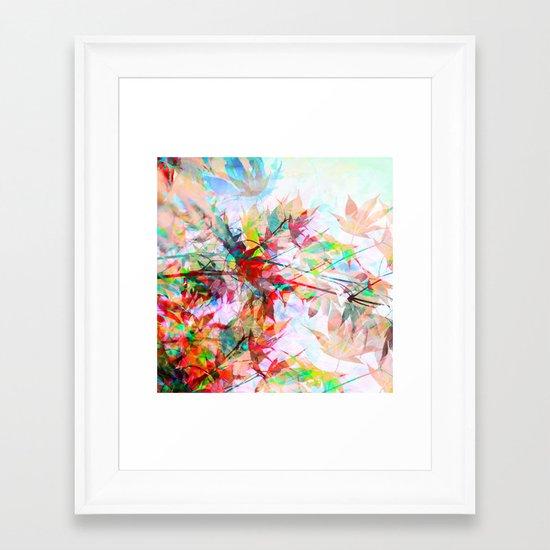 Abstract Autumn Framed Art Print