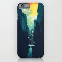 city iPhone & iPod Cases featuring I Want My Blue Sky by Picomodi