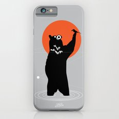 Big Bear and the Bird- Wearing Gas mask iPhone 6s Slim Case