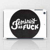 FEMINIST iPad Case