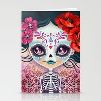 Amelia Calavera - Sugar … Stationery Cards