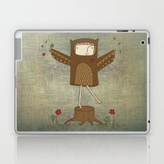 Little Owl Girl Laptop & iPad Skin