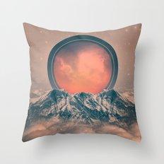 Rise Again (Solar Eclipse) Throw Pillow