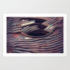 Rust 8 Art Print