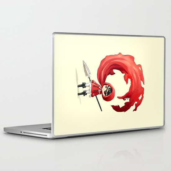 Red Cape Laptop & iPad Skin