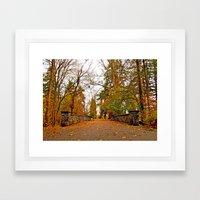Wapato Park bridge Framed Art Print