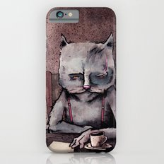 Hemingway cat iPhone 6 Slim Case