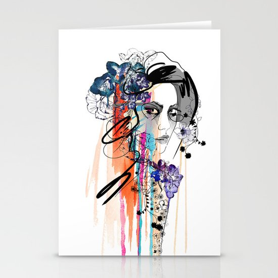Poison Stationery Card