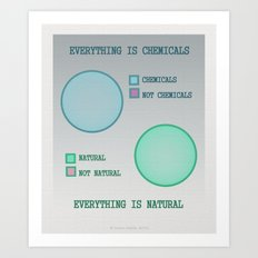Everything is.. Art Print