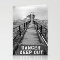 Danger Danger Stationery Cards