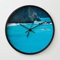 Blue Paradise, Seascape … Wall Clock