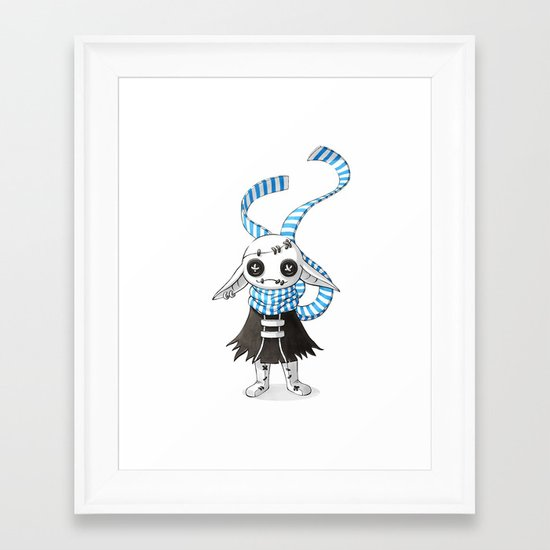 Rag Doll Framed Art Print