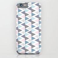 iPhone & iPod Case featuring Tri Colour Two by Eleanor V R Smith