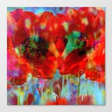 Simple as flowers Canvas Print