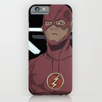 iPhone & iPod Case featuring My name is Barry Allen by The Vector Studio