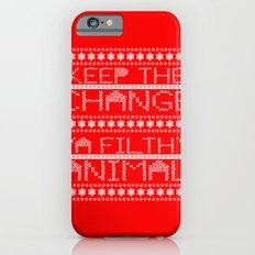 Keep the Change Christmas Sweater RonkyTonk iPhone 6s Slim Case