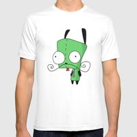 Gir Mens Fitted Tee White SMALL