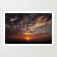 Early Morning On Fripp I… Art Print