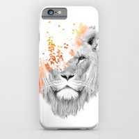 iPhone & iPod Case featuring If I roar (The King Lion) by Budi Kwan