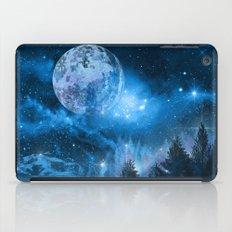 Night forest iPad Case