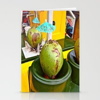 Coconut Dream Stationery Cards