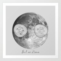 Feel at home 2 Art Print