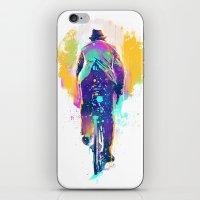 GO BIKE iPhone & iPod Skin