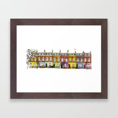 Hartland Road 1-15/Camden, London Framed Art Print