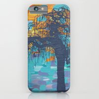 iPhone & iPod Case featuring Weeping Cherry by Pat Butler