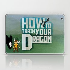 HOW TO TRAIN YOUR DRAGON - Fantasy | Animation | Movie | Fantastic | Childer | Sci-fi Laptop & iPad Skin