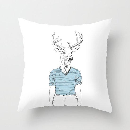 Wild Nothing I Throw Pillow