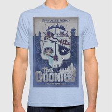 Goonies Mens Fitted Tee Athletic Blue SMALL