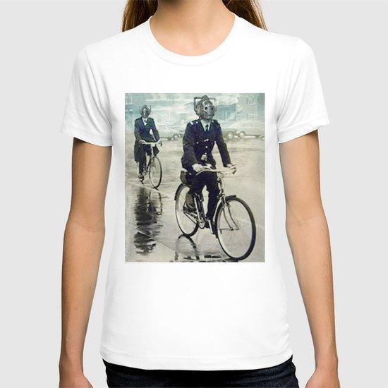 Cybermen on bikes T-shirt