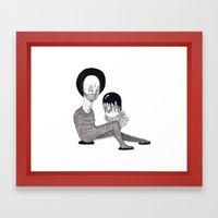 Desmembrado Framed Art Print